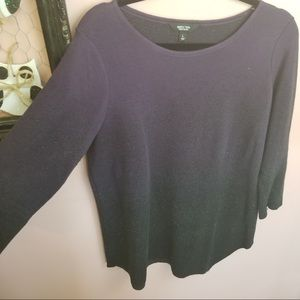 Simply Vera wang purple sweater
